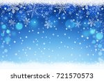 beautiful blue blurred... | Shutterstock . vector #721570573