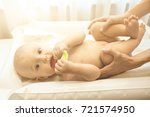 portrait of happy mother with...   Shutterstock . vector #721574950