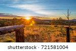 scenic rim sunrise   Shutterstock . vector #721581004