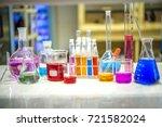 preparation of standard ph... | Shutterstock . vector #721582024