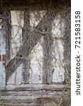 wattle and daub wall of barn in ... | Shutterstock . vector #721583158