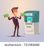 businessman office worker... | Shutterstock .eps vector #721583680