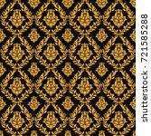 oriental vector fine texture... | Shutterstock .eps vector #721585288