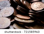 coin   coins of the pound... | Shutterstock . vector #721585963