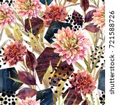 Autumn Watercolor Floral...