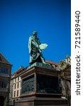 the gutenberg monument... | Shutterstock . vector #721589440