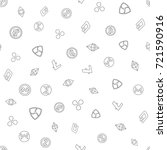 cryptocurrency seamless pattern....   Shutterstock .eps vector #721590916