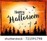 Halloween Spooky Background....