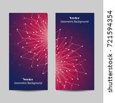 set of vertical banners.... | Shutterstock .eps vector #721594354