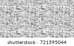 grunge black and white vector.... | Shutterstock .eps vector #721595044