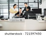 asian business people | Shutterstock . vector #721597450