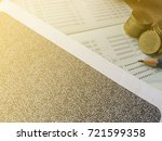 carbon salary pay slip secret... | Shutterstock . vector #721599358