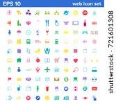 100 web icon set