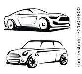 car vector | Shutterstock .eps vector #721604800