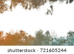 brushed painted abstract... | Shutterstock . vector #721605244