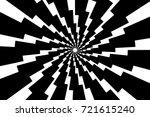 lightning bolt   abstract... | Shutterstock .eps vector #721615240