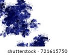 brushed painted abstract... | Shutterstock . vector #721615750