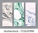 branding packaging oil color... | Shutterstock .eps vector #721619980