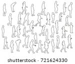 vector  isolated sketch ... | Shutterstock .eps vector #721624330
