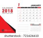 desk calendar 2018 template....