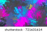 brushed painted abstract... | Shutterstock . vector #721631614