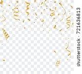 celebration background template ... | Shutterstock .eps vector #721636813