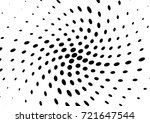 abstract halftone wave dotted... | Shutterstock .eps vector #721647544