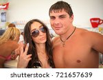 odessa  ukraine august 2  2014  ... | Shutterstock . vector #721657639