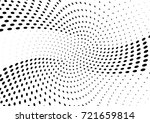 abstract halftone wave dotted... | Shutterstock .eps vector #721659814
