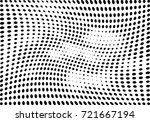 abstract halftone wave dotted... | Shutterstock .eps vector #721667194