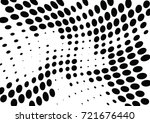abstract halftone wave dotted... | Shutterstock .eps vector #721676440