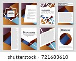 abstract vector layout... | Shutterstock .eps vector #721683610