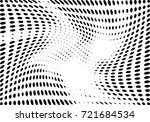 abstract halftone wave dotted... | Shutterstock .eps vector #721684534