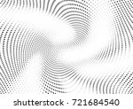 abstract halftone wave dotted... | Shutterstock .eps vector #721684540