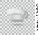 chef hat isolated  | Shutterstock .eps vector #721687630