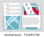 abstract vector layout... | Shutterstock .eps vector #721691740