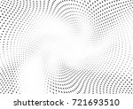 abstract halftone wave dotted... | Shutterstock .eps vector #721693510