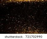 Gold Glitter Christmas Lights...
