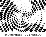 abstract halftone wave dotted... | Shutterstock .eps vector #721705600