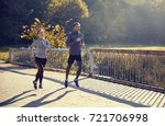 fitness  sport  people and... | Shutterstock . vector #721706998