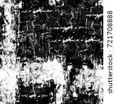 grunge black and white seamless ... | Shutterstock . vector #721708888