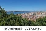 lisbon from above | Shutterstock . vector #721723450