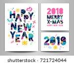 2018 happy new year  merry x