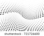 abstract halftone wave dotted... | Shutterstock .eps vector #721726600