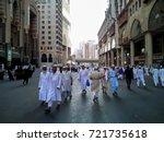 mecca  saudi arabia   8 august... | Shutterstock . vector #721735618