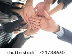 inselective focus of close up...   Shutterstock . vector #721738660