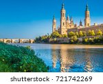 the cathedral basilica of our... | Shutterstock . vector #721742269