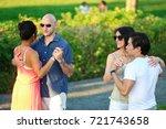 washington  dc   september 24 ... | Shutterstock . vector #721743658