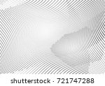 abstract halftone wave dotted... | Shutterstock .eps vector #721747288