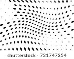 abstract halftone wave dotted... | Shutterstock .eps vector #721747354